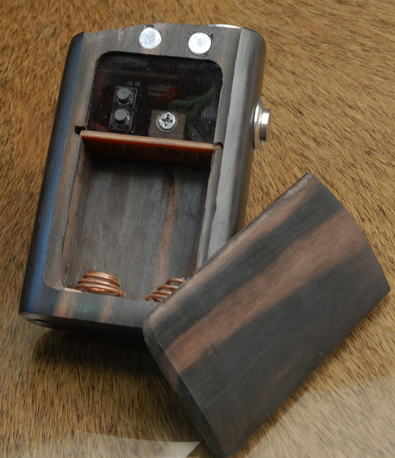 kamagong wood box mod 2